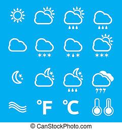 天候, セット, アイコン