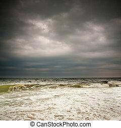 天候, 大西洋, 嵐の海洋