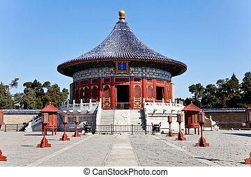 天国, 寺院