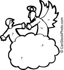 天国, 漫画, 天使