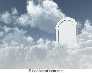 天堂般, 墳墓