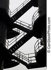 天堂, 樓梯