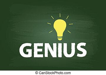 天才, 概念, 電球