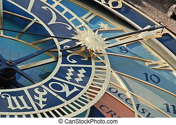 天文學的鐘