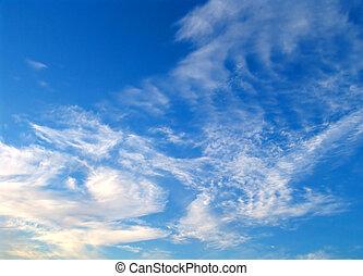 天空, 冬天