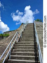 天空, 樓梯