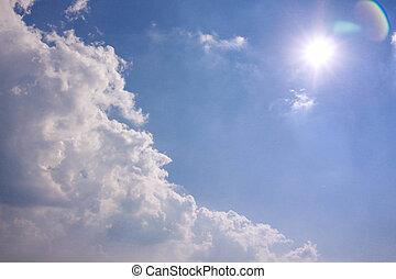 天空, 雲