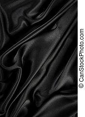 天鵝絨, /, 布, 黑色的背景, 絲綢