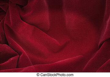 天鹅绒, 红的背景