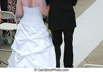 天, 婚禮