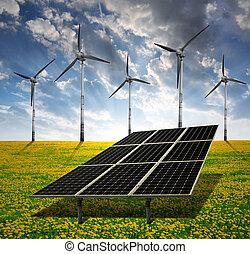 太阳能面板