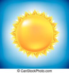 太阳, 带, 天空