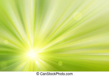 太陽は放射する