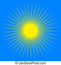 太陽は放射する, 黄色