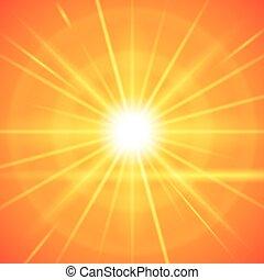 太陽は放射する, design.