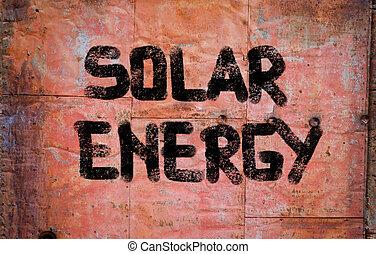 太陽エネルギー, 概念
