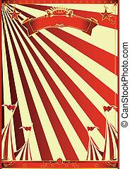 太陽光線, サーカス, 赤