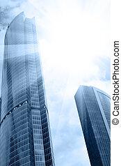 太陽耀眼, 摩天樓