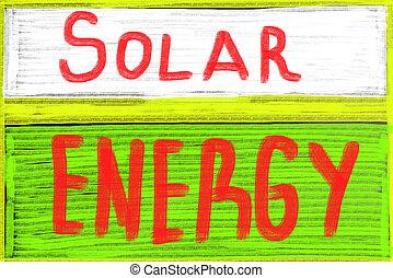 太陽能, 概念
