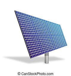 太陽面板, 為, 可選擇 能源
