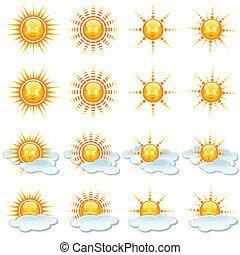 太陽, コレクション, アイコン