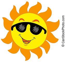 太陽, サングラス, 漫画