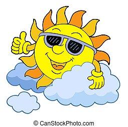 太陽, サングラス