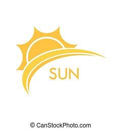太陽, シンボル, イラスト