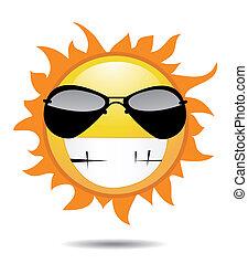 太陽, ベクトル, イラスト