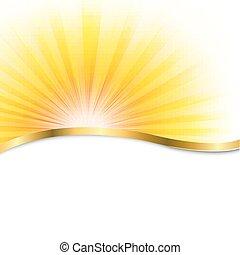 太陽, ポスター, ビーム