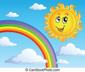 太陽, 主題, 2, 雲