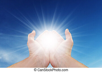太陽, 你, 手