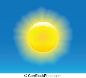 太陽, 写実的