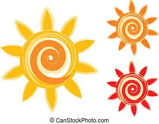 太陽, 圖象
