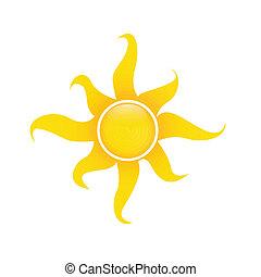 太陽, 抽象的