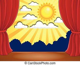太陽, 抽象的, 3, ステージ