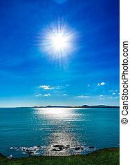 太陽, 浜