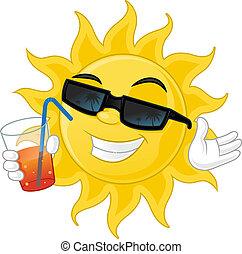 太陽, 涼爽