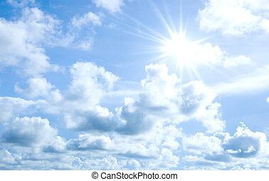 太陽, 空