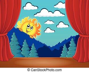 太陽, 3, ステージ, 幸せ