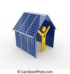 太陽, concept., エネルギー