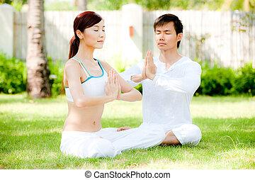 夫妇, 瑜伽