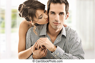 夫婦, 愛, 年輕