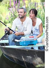 夫婦, 漁船