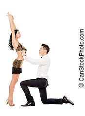 夫婦, 舞蹈家