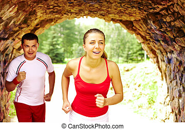 夫婦, 跑
