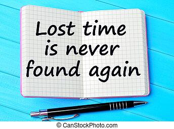 失われた, テキスト, 時間, 再び, 見いだされた, ∥決して∥