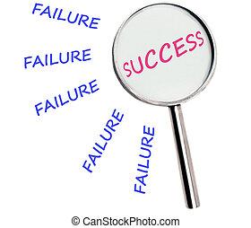 失敗, 成功