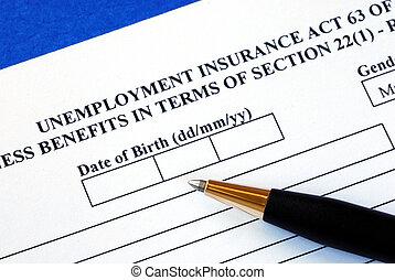 失業, 適用されなさい, 保険