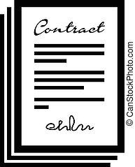 契約, セット